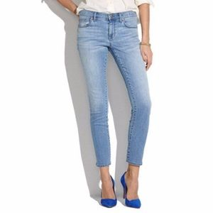Madewell Jeans Light Wash Crop